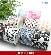 Duct Tape Patterns Interesting 48 Roll Colorful Duct Tapes Colored Duct Tape Many Patterns For