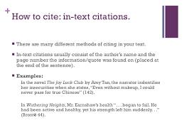 In Text Citation Mla Interview