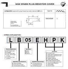 Yamaha Spark Plug Chart Ngk Spark Plugs Ngk Resistor Caps
