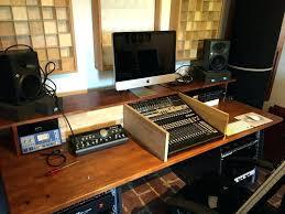 home recording desk recording studio desk home recording studio desk plan cool with impressive diy building homerecording studio desk recording studio desk