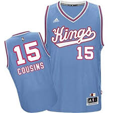 Adidas Demarcus Cousins Saxcramento Kings Hardwood Classics Swingman Jersey