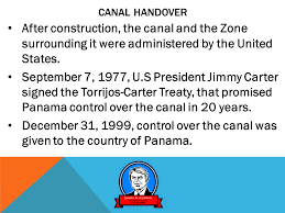 Image result for The canal was administered by the U.S