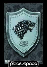 Game Of Thrones Stark House Crest Wooden Plaque GAME OF THRONES STARK HOUSE CREST WALL PLAQUE eBay 17