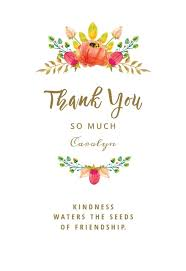 Electronic Thank You Card Free Thank You Card Templates Free Greetings Island