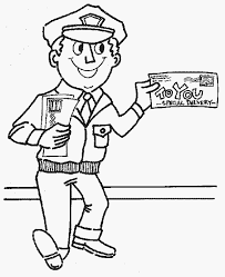 Small Picture Mailman Coloring Page Color Book