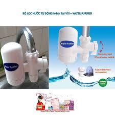 BỘ LỌC NƯỚC TẠI VÒI, Máy Lọc Nước Tại Vòi Water Purifier - 4 Cấp Độ Lọc,  Chất Lượng Đảm Bảo, Dễ Dàng Lắp Đặt