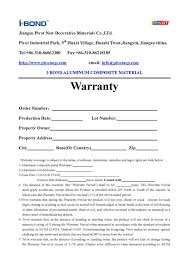 27 Images Of Plumbing 1 Year Warranty Certificate Template Blank
