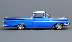 1959 Chevrolet El Camino Blue 1:43 Scale Diecast Spark S2906