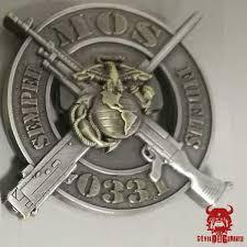 Usmc 0331 Mos 0331 Machine Gunner Marine Corps Challenge Coin