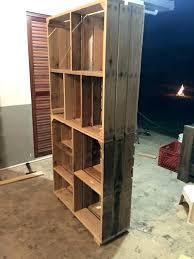 making shelves from pallets making shelves from
