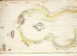 Gulf Of Suez Egypt From Nautical Charts By Joao De Castro