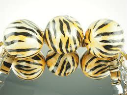 Leopard Decorative Balls 100 Capiz Large Decorative Balls Orbs Spheres African Safari 76
