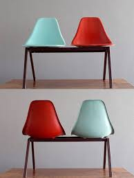 Laundromat furniture Beautiful 1950s Laundromat Shell Chairs In Turquoise Red Fiberglass On Steel Tandem 22500 Via Etsy Pinterest 1950s Laundromat Shell Chairs In Turquoise Red Fiberglass On