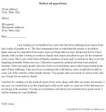 Appeal Letter Template Medical - Mobileoptimizepro.co
