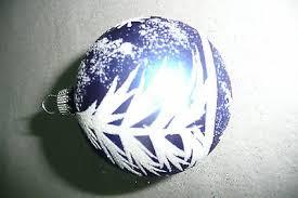 Christbaumkugel Weihnachtskugel Christbaumschmuck Krebs Blau