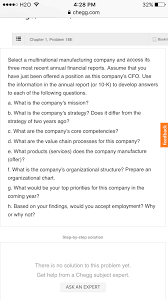 Organizational Chart Of Multinational Company Solved Select A Multinational Manufacturing Company And A