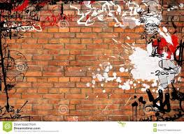 tag graffiti brick wall wallpaper