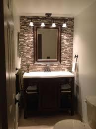 40 Ideas About Half Bath Remodel On Pinterest Half Bathroom Impressive Bath Remodeling Exterior Design