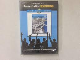 Prentice Hall United States History Modern Presentation Express Cd