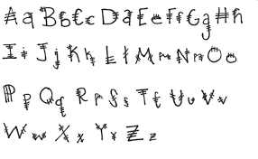 Different Types Of Alphabet Writings Cool Ways To Write Letters