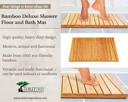 bathroom bamboo flooring. Bamboo-bath-shower-mat Bathroom Bamboo Flooring D