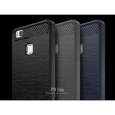 huawei p9 grey. ipaky brushed tpu back case for huawei p9 lite / g9 with carbon fiber decorated grey