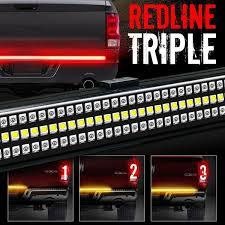 Tailgate Brake Light 60 Triple Led Tailgate Bar Sequential Turn Signal Amber Rigid Brake Light Rear