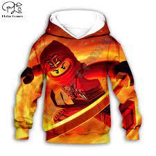 Boys Sweatshirts Legoes Long Sleeved Baby Ninjago Girls Hoodies Children  Spring Autumn Clothes Toddler Out Style 6|Hoodies & Sweatshirts
