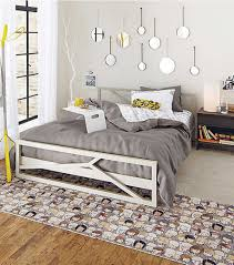 Modern Teenage Girls Bedroom Grey Teenage Bedroom