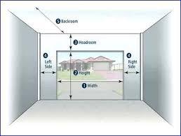 garage door dimensions gallery of luxury single car garage door dimensions for small home decorating garage