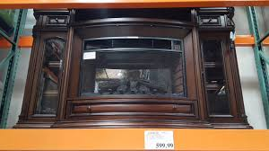 costco well universal wood electric fireplace 599