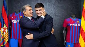 Laporta la bundle! The president confuses Pedri with Leo Messi