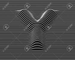 Linear 3d Font Letter Y