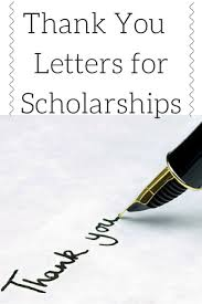 thank you note scholarship after receiving a scholarship it is imperative to send a well