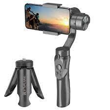 Handheld H4 3 Achsen Gimbal Stabilisator Anti schütteln Smartphone  Stabilisator für Handy Action Kamera für Vlogging Live  übertragung|Hand-Tragbügel