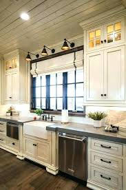 Cottage kitchen lighting Pinterest Country Cottage Kitchen Lights Photo Of Lighting Love The Roman Shades And Above Ecommercewebco Decoration Country Cottage Kitchen Lights Photo Of Lighting