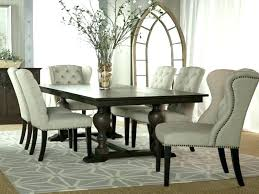 living endearing upholstered dining room set 16 tufted chairs sets awesome