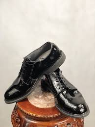 yes these are the military dress shoes worn with dress uniform these dress shoes are military regulation and are the standard for all solrs to