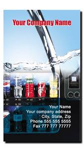 Vending Machine Routes New Soda Machine Vending Route Business Cards Soda Vending Machine