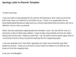 apology letter to parents template just letter templates letter of apology to parents