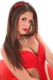 Little Caprice in Red Is My Color iStripper