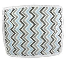 blue baby blanket flat