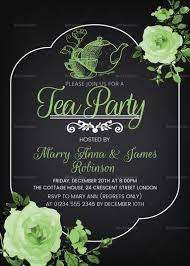 Create Invitation Card Inspirational Tea Party Invitation