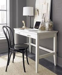 white lacquer office desk decoist make something similar for my bedroom nice simple