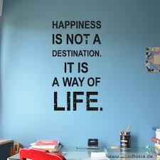Wandtattoos Schilder Piktogramme Von Wandtasie Happiness Is Not