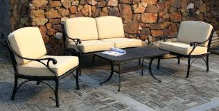 black metal outdoor furniture. Beautiful Outdoor Metal Outdoor Dining Sets Perfect Lounge Furniture Patio  Black   Intended Black Metal Outdoor Furniture I
