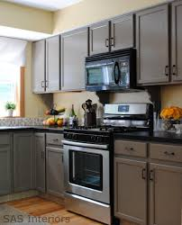 Kitchen Cupboard Makeover Kitchen After Being Painted Creme Brle Step By Step Beginners
