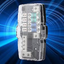 buy generic car audio stereo anl blade fuse holder distribution car audio stereo anl blade fuse holder distribution blocks 0 4ga 4 way fuses box