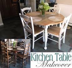 Kitchen Table Makeover Kitchen Table Makeover Made2style