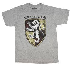 T-Shirts Harry Potter Movie Gryffindor House Crest Adult T Shirt Kleidung &  Accessoires bailek.com